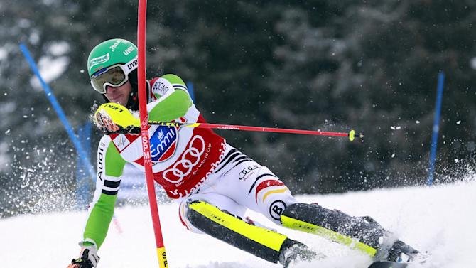 Fenninger wins WCup giant slalom race and title