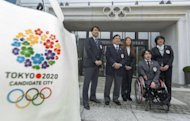 Members of Tokyo 2020 bid delegation at IOC headquarters in Lausanne in January. Organisers of Tokyo's bid for the 2020 Olympics say public support for their campaign has risen to 77% as IOC inspectors make a fact-finding tour of three candidate cities