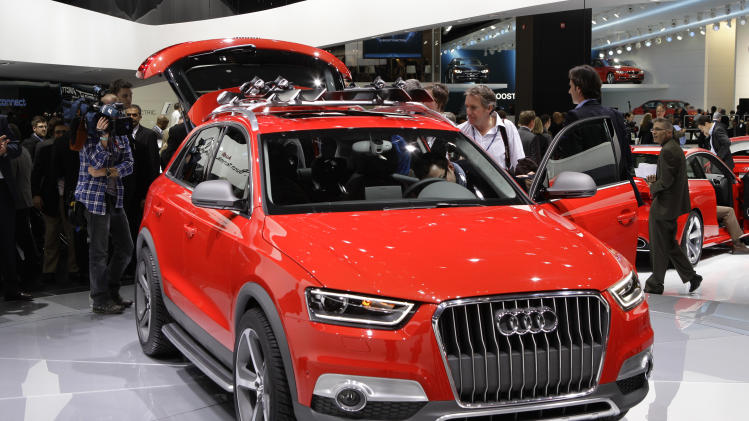The 2013 Audi Q3 Vail is displayed at the North American International ...