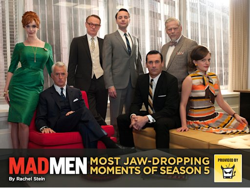 'Mad Men': Most Jaw-Dropping Moments of Season 5