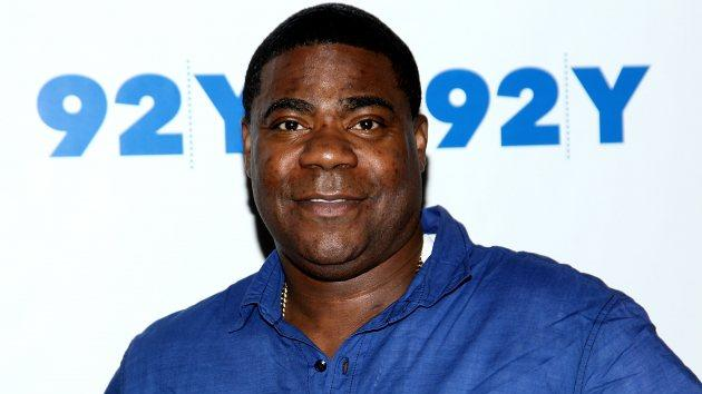 Tracy Morgan In Conversation with Hannibal Buress at the 92nd Street Y on April 16, 2014 in New York City -- Getty Images