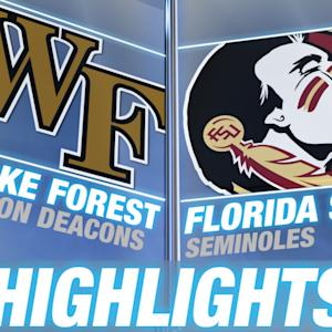 Wake Forest vs Florida State | 2014-15 ACC Men's Basketball Highlights