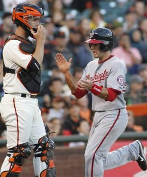 Nationals enjoy highest-scoring game of year vs SF