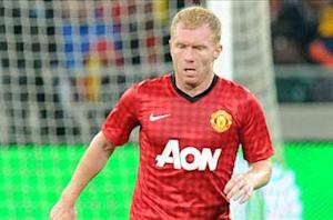 Manchester United midfielder Scholes 'totally convinced' he's making right decision to retire