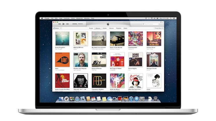 This undated screen image released by iTunes shows the iTunes music page on a computer screen. The iTunes music store changed how we consume music and access entertainment. It's not only music's biggest retailer, it also dominates the digital video market, capturing 67 percent of the TV show sale market and 65 percent of the movie sale market, according to information company NPD group. Its apps are the most profitable, it has expanded to books and magazines, and it is now available in 119 countries.  (AP Photo/iTunes)