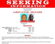 Aaron Alexis, who the FBI believe to be responsible for the shootings at the Washington Navy Yard in the Southeast area of Washington, DC, is shown in this poster released by the FBI on September 16, 2013. REUTERS/FBI/Handout via Reuters
