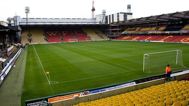 FOOTBALL Watford's Vicarage Road