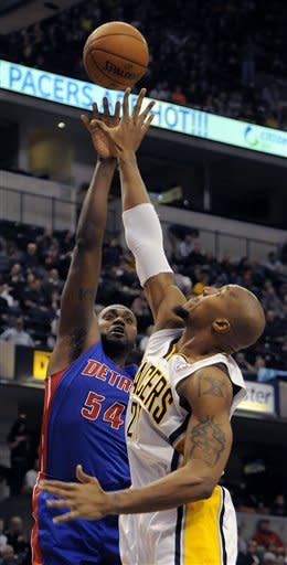West helps Pacers rout Pistons 114-82