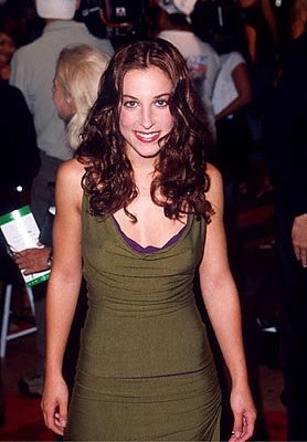 Premiere: Lindsay Sloane at the Mann Bruin Theater premiere of Universal's Bring It On - 8/22/2000