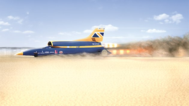 Supersonic Car Designed to Become World's Fastest (ABC News)