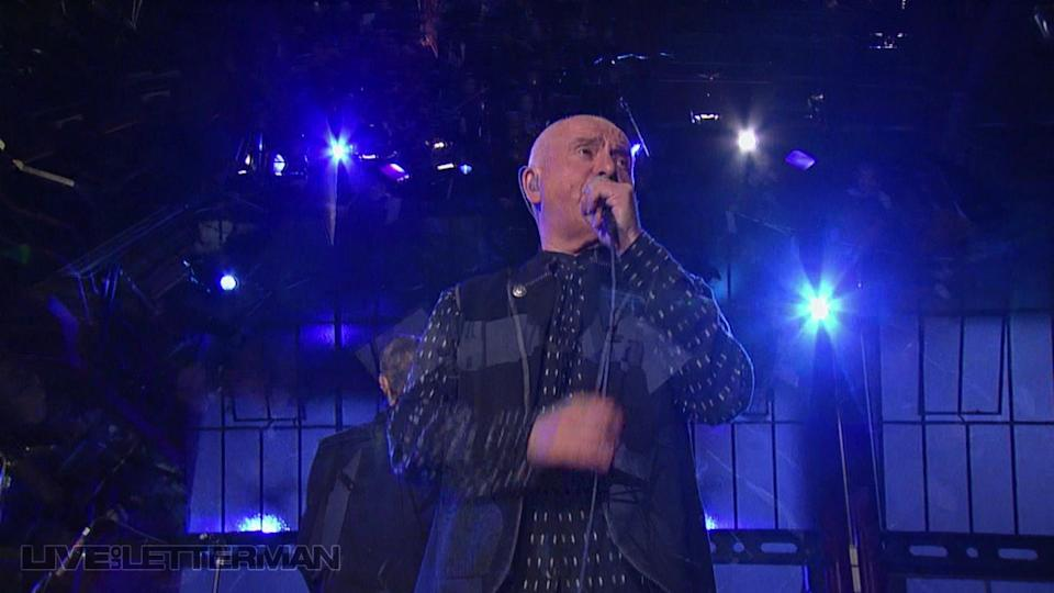 Solsbury Hill (Live on Letterman)