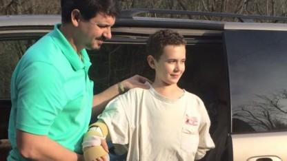 Boy, 12, Whose Arm Was Severed Then Reattached is Now Back Home