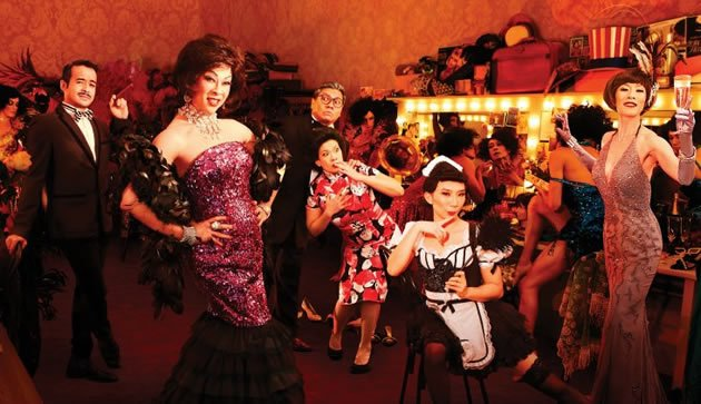 &amp;#34;La Cage aux Folles&amp;#34;, Glen Goei's Singapore remake of the Tony award-winning musical. (W!LD RICE photo)