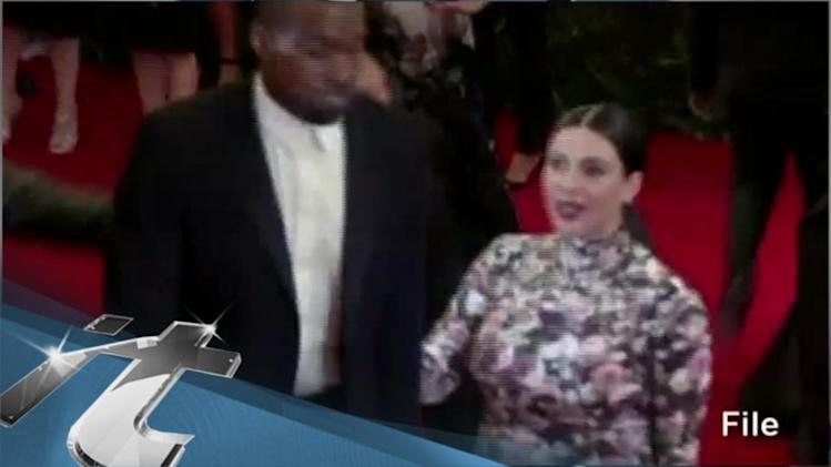 Kim Kardashian News Pop: North West -- Holy Crap, I Don't Have a Middle Name!
