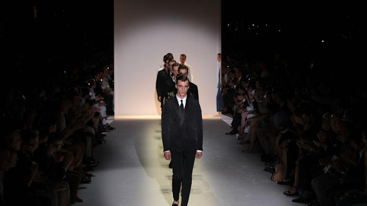 Gucci: Runway - Milan Fashion Week Menswear Spring/Summer 2013