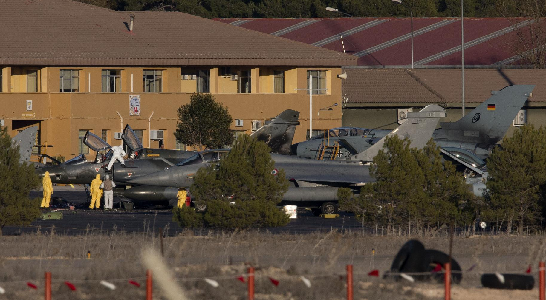 Probe after 11 die in NATO training jet crash in Spain