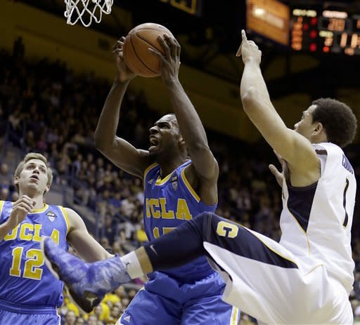 Big first half helps California past UCLA, 76-63