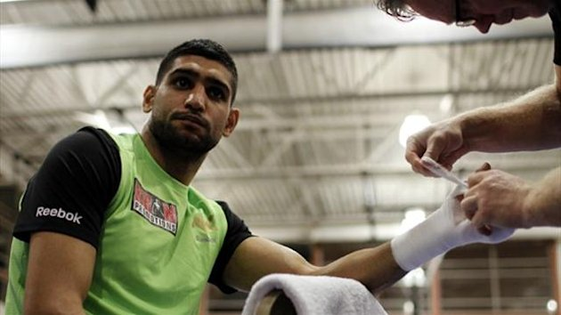 2012 BOXING Amir Khan