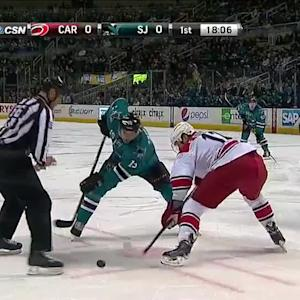 Carolina Hurricanes at San Jose Sharks - 03/04/2014