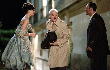 Emily Mortimer , Steve Martin and Jean Reno in MGM/Columbia Pictures' The Pink Panther