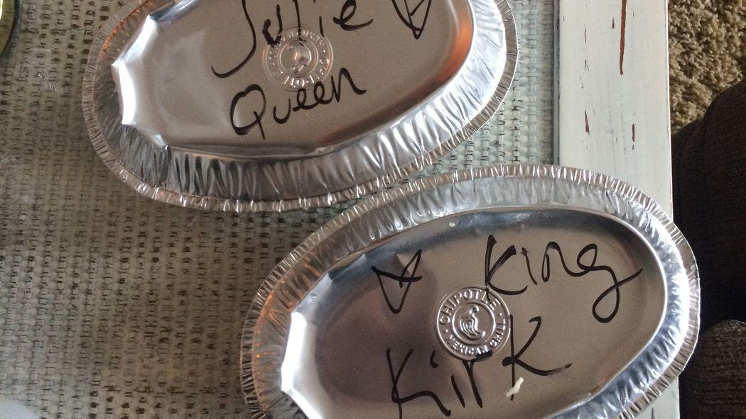 An NFL Quarterback and His Wife Are King and Queen at Chipotle