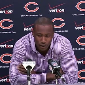 Chicago Bears wide receiver Brandon Marshall: We can shape and mold a culture