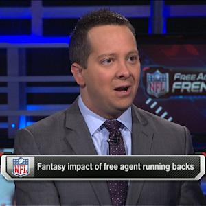 Fantasy impact on free agent RBs