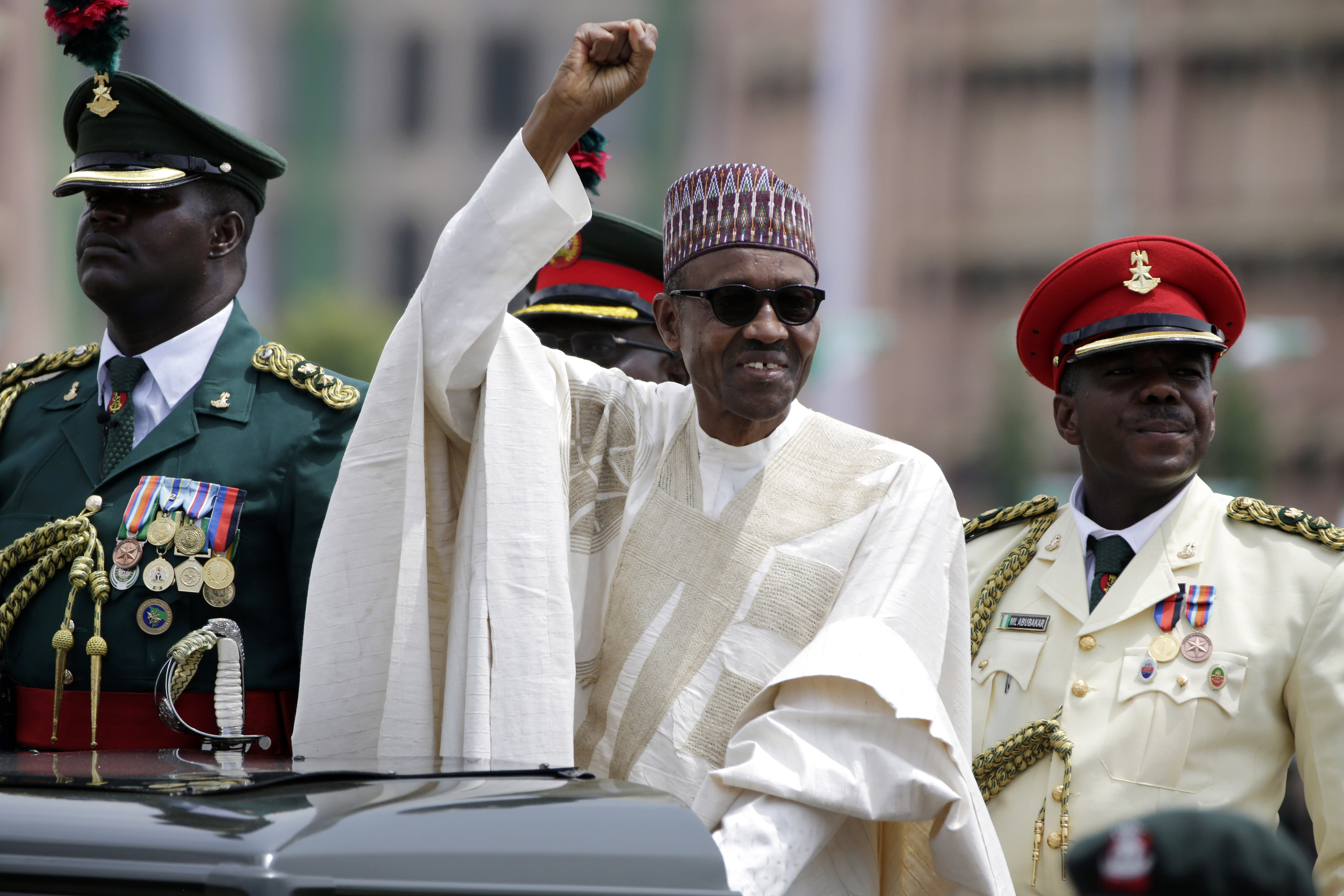 Nigerian president declares wealth, showing 'austere' living