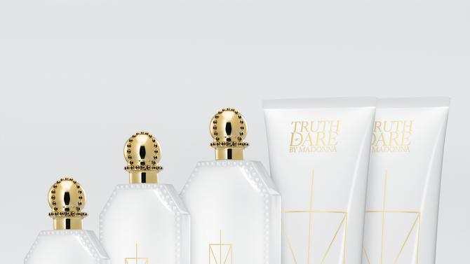 "Madonna's ""Truth or Dare"" fragrance line"