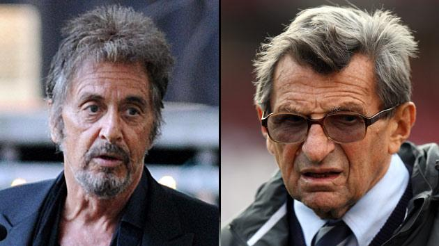 Al Pacino and Joe Paterno