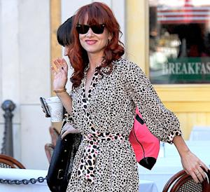 PIC: Juliette Lewis Dyes Her Hair Red!