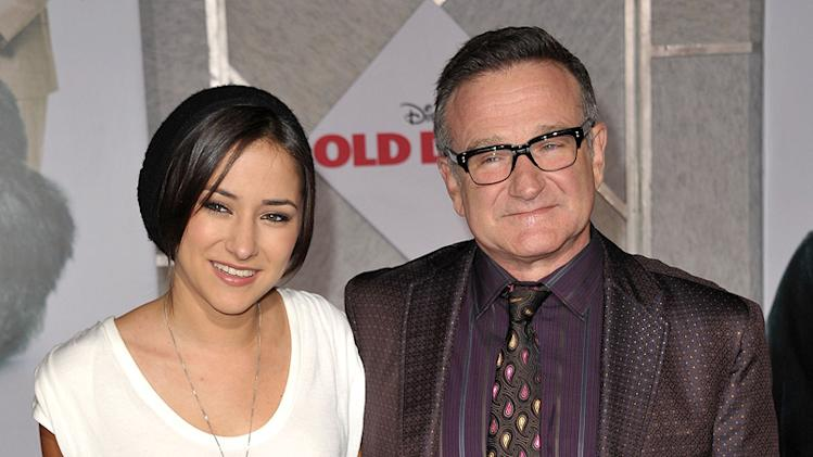 Old Dogs LA premiere 2009 Zelda Williams Robin Williams