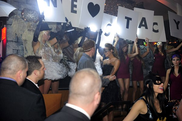 Stacy Keibler Hosts A Masquerade Party At Hyde Bellagio   View photo ...