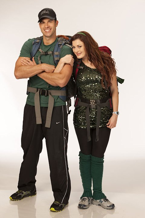 """Big Brother"" vets Brendon Villegas and Rachel Reilly aka ""Brenchal"" compete in the 20th season of ""The Amazing Race."""