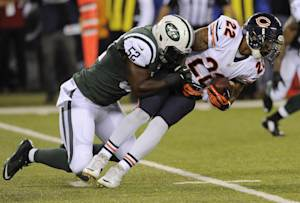 Bears hold on to beat Jets 27-19