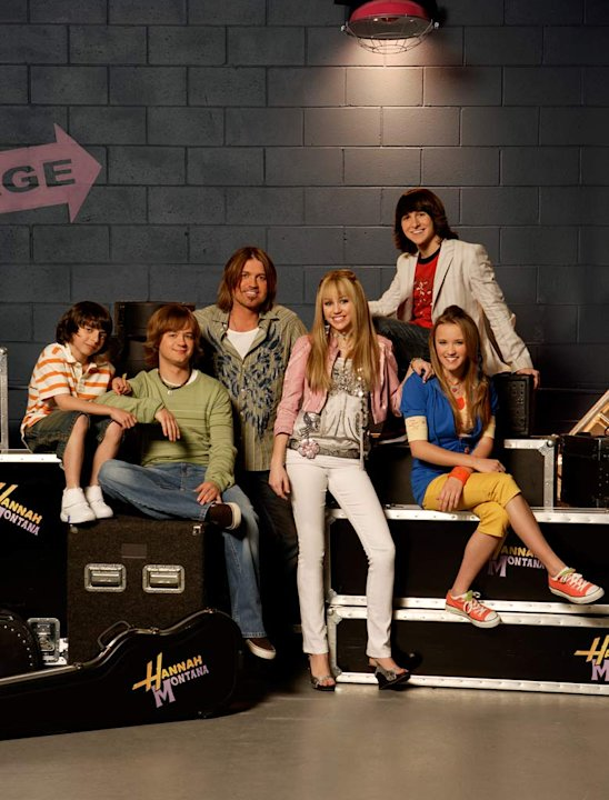 The cast of &quot;Hannah Montana.&quot; 