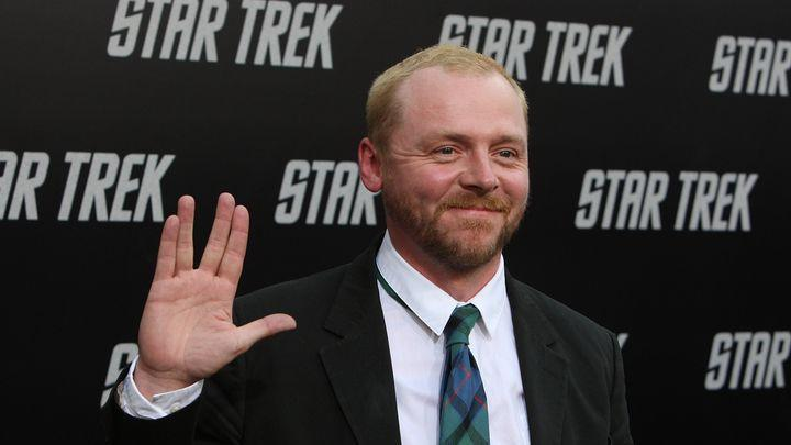 Simon Pegg on that Mission: Impossible trailer, the 'optimism' of his Star Trek movie