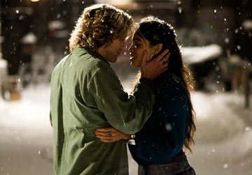 Adam Pascal and Rosario Dawson in Columbia Pictures' Rent