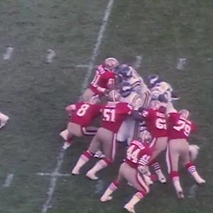 Steve Young's winding touchdown run