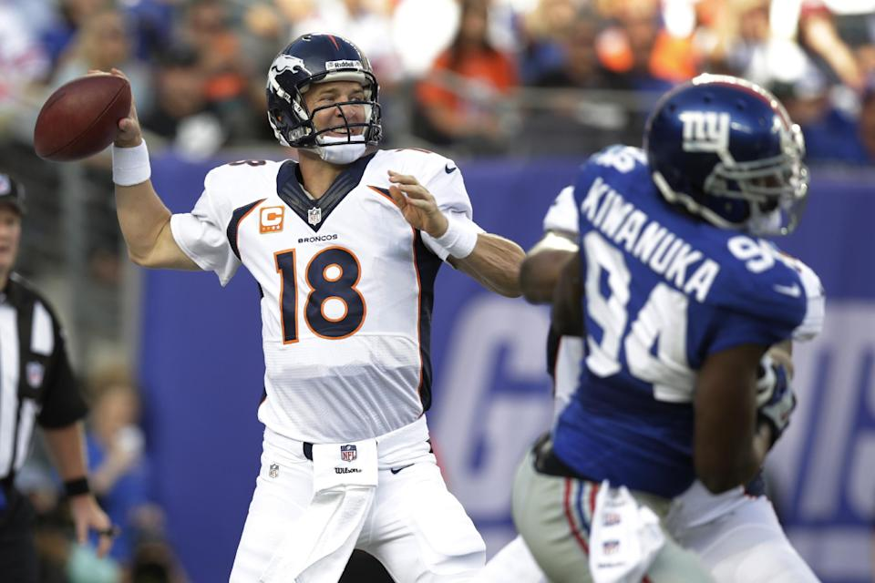 Broncos become top team in AP Pro32 poll