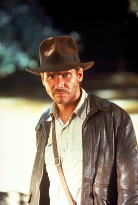 Harrison Ford as Indiana Jones in Paramount Pictures' Raiders of the Lost Ark