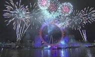 New Year Celebrations: UK Welcomes In 2013