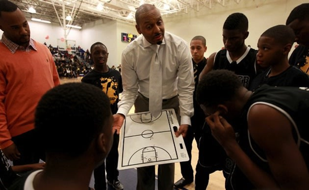 Former NBA star Penny Hardaway coaches the Lester Middle School basketball team — Memphis Commercial Appeal
