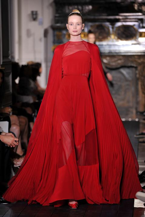 Valentino: Runway - Paris Fashion Week Haute Couture F/W 2012/13