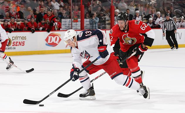 Columbus Blue Jackets v Ottawa Senators