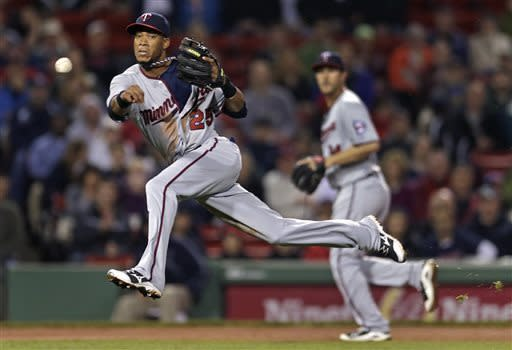Arcia HR, Lackey error boost Twins over Sox 5-3