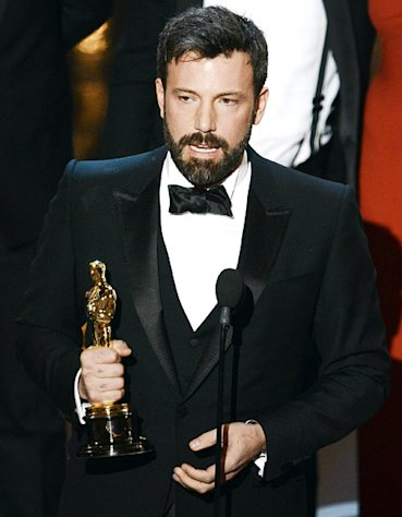 Ben Affleck Wins Best Picture Oscar for Argo, Thanks Wife Jennifer Garner: Marriage Is &quot;Work, But It&#39;s the Best Work There Is&quot;