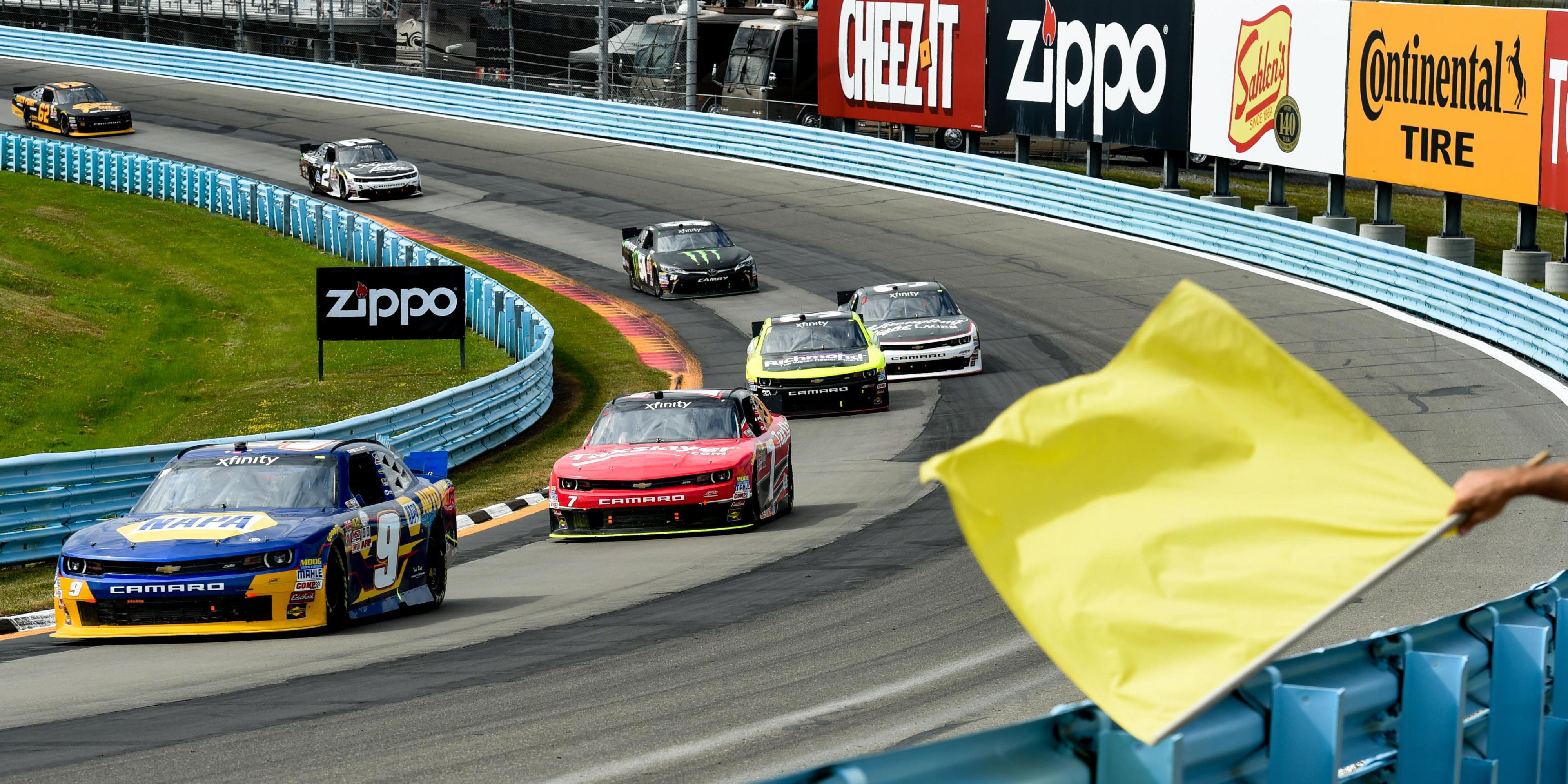 New NASCAR Rule Will Extend Races to Avoid Finishing Under Yellow Flag