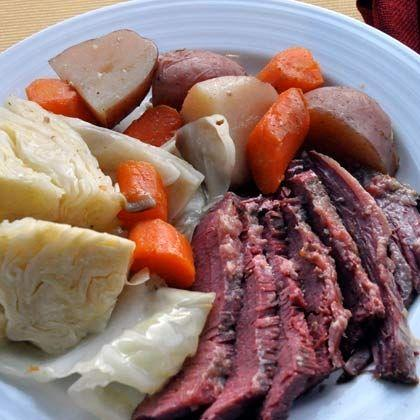 Ireland! Corned Beef and Cabbage!