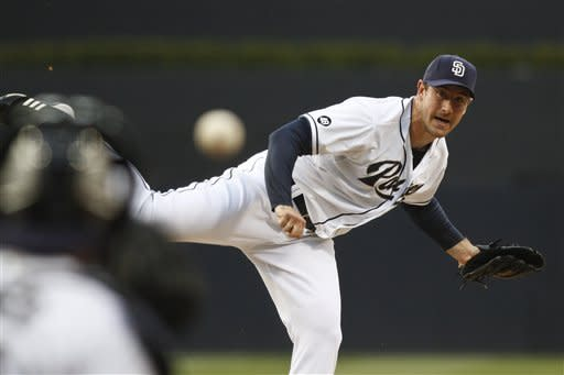 Padres ruin Raley's debut with 7-4 win over Cubs